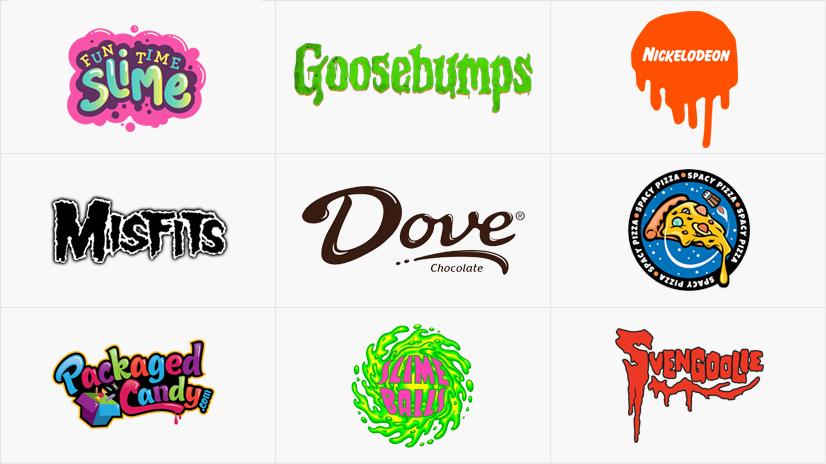 Types of Logos: Slime