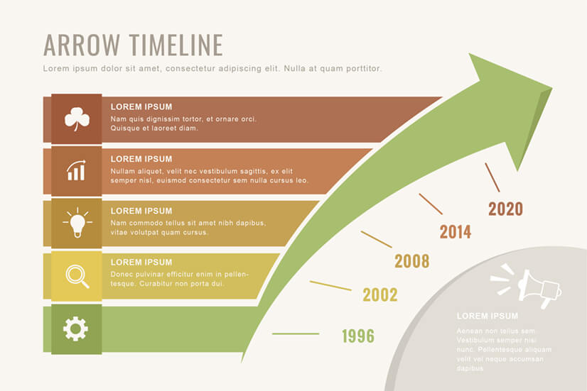 Free Timeline Speed Infographic Template