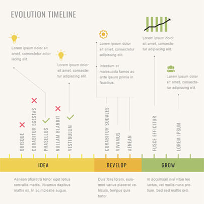 Free Project Timeline Infographic Template