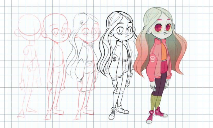 character design process