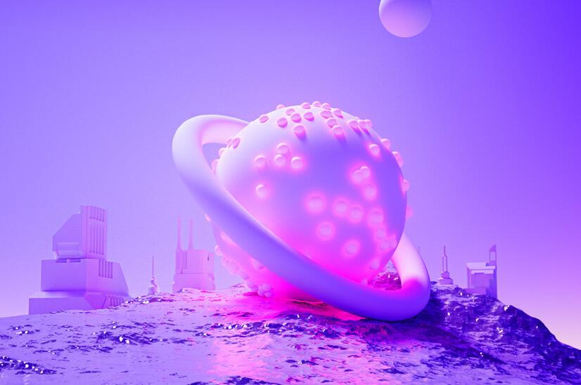 Amazing Monochrome 3D Design Concept in 2021