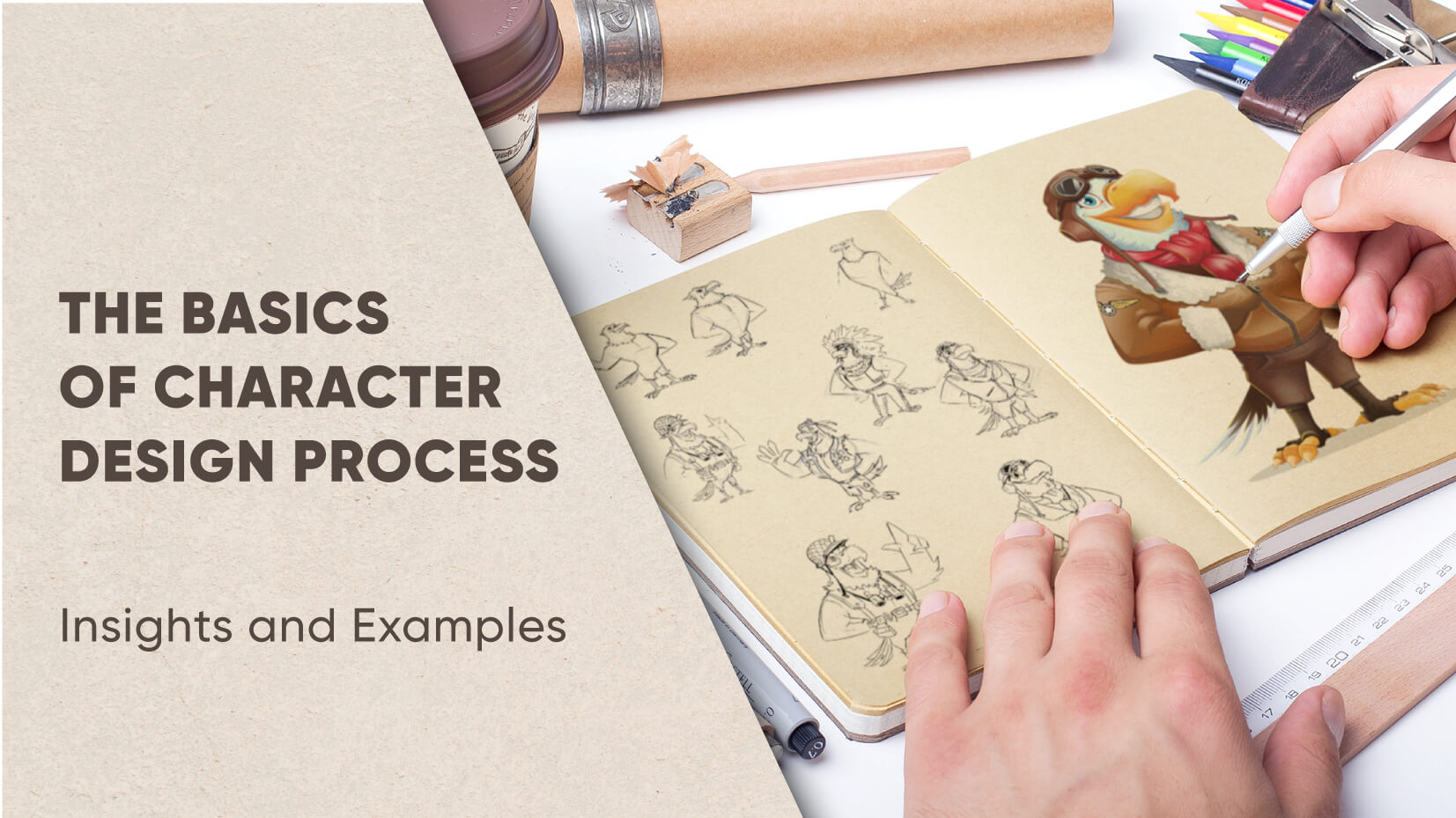 The Basics of Character Design Process: Insights and Examples