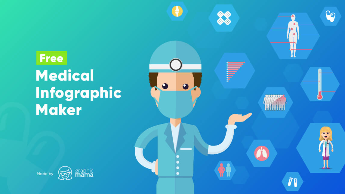 Free Medical Infographic Maker by GraphicMama