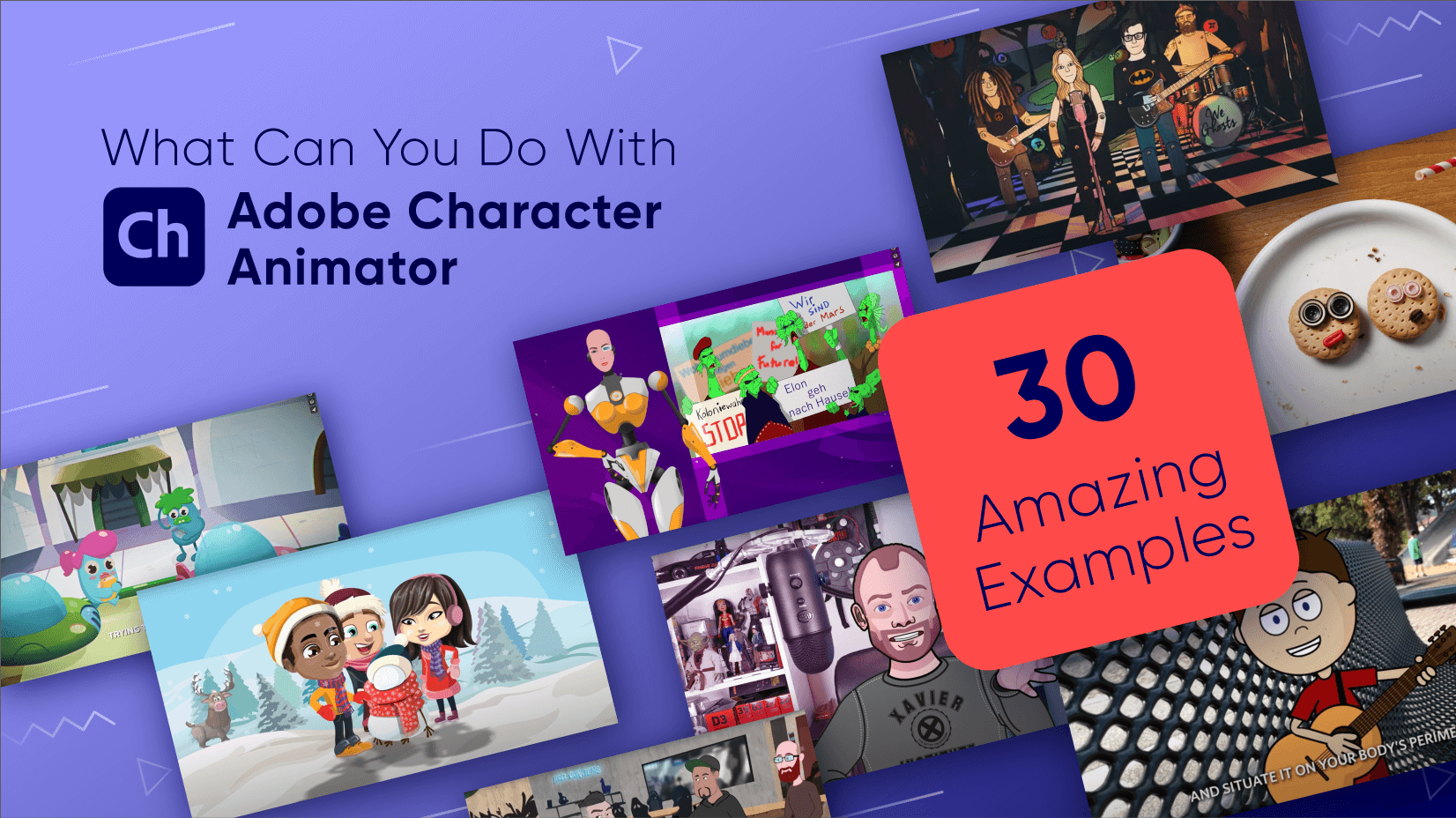 What Can You Do With Adobe Character Animator - The Best Examples