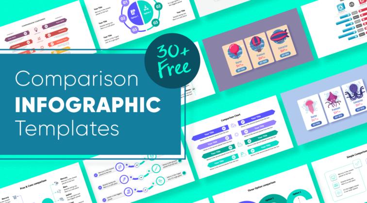 Free Comparison Infographic Templates