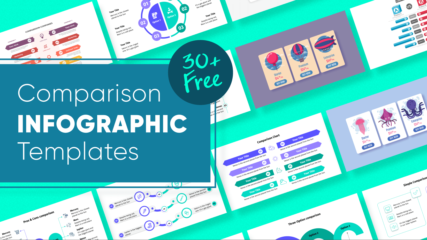 Free Comparison Infographic Templates