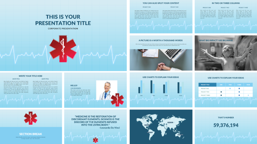 Free Corporate Medical PowerPoint Template