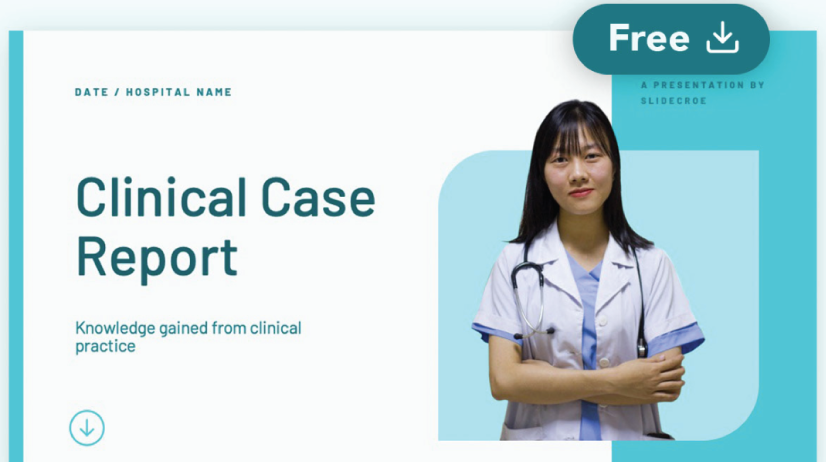 Free Clinical Case Report Presentation Template
