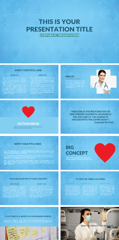 Free Orvos Medical PowerPoint Template