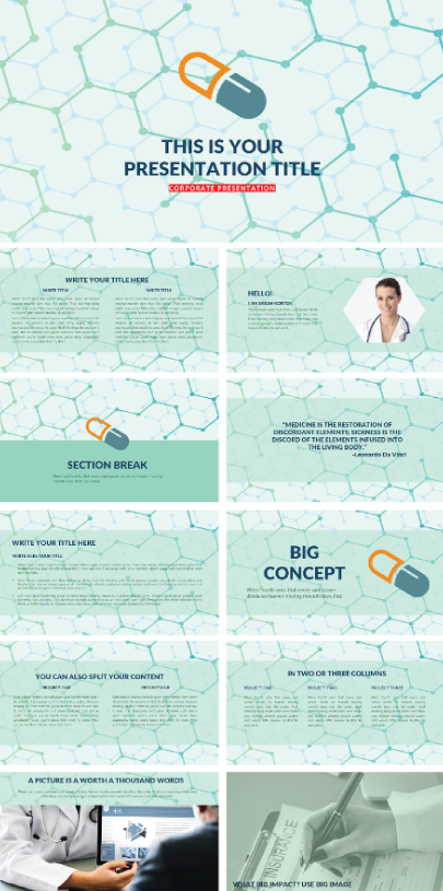 Free Medical Business Template