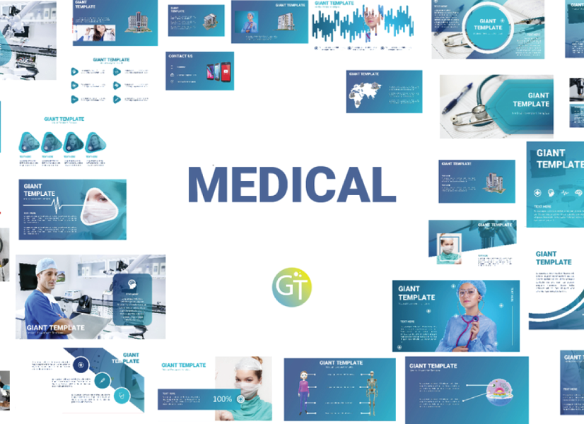 Free Medical Students Presentation PowerPoint Template