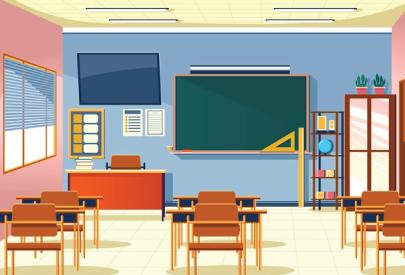 class room character animator background