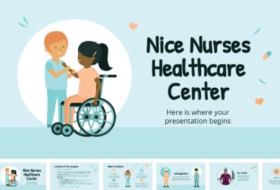 Free Nice Nurses PowerPoint Template