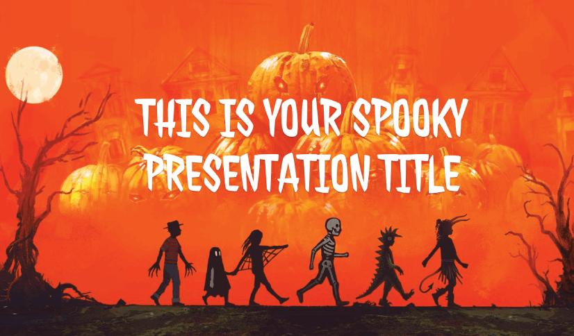 Free Fun Halloween PowerPoint Presentation for Kids