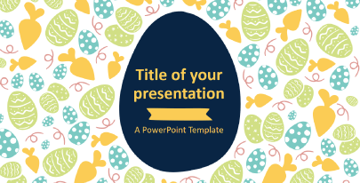 Free Cute Easter PPT Template
