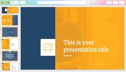 Free Stylish Pitch DeckPowerPoint Presentation Template