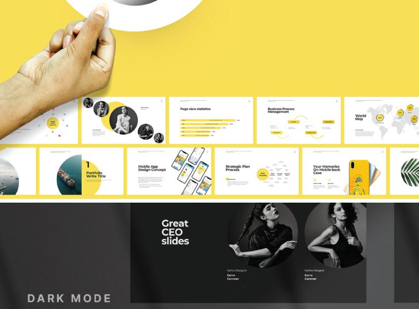 Free Multipurpose Presentation Marketing Template