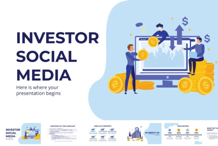 Free Social MediaMarketing PowerPoint Presentation Template