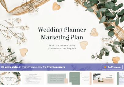 Free Wedding Planner Presentation Template