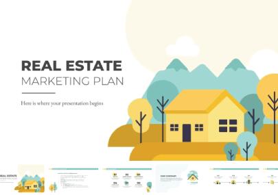 Free Real Estate Marketing Presentation Template