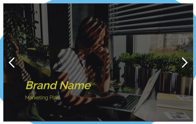 Free Slidebean Marketing Plan PowerPoint Template