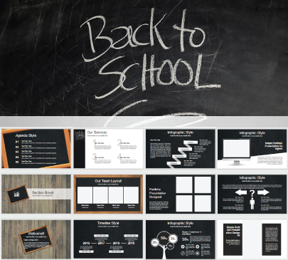 Back to School free education powerpoint template