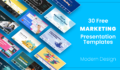Free Marketing Presentation Templates