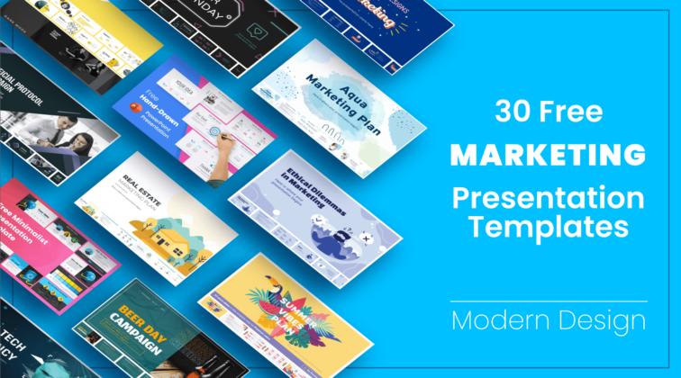 Free Marketing Presentation Templates