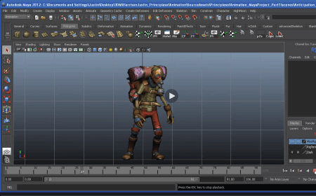 Learn the 12 Principles of Animation for Games in Maya