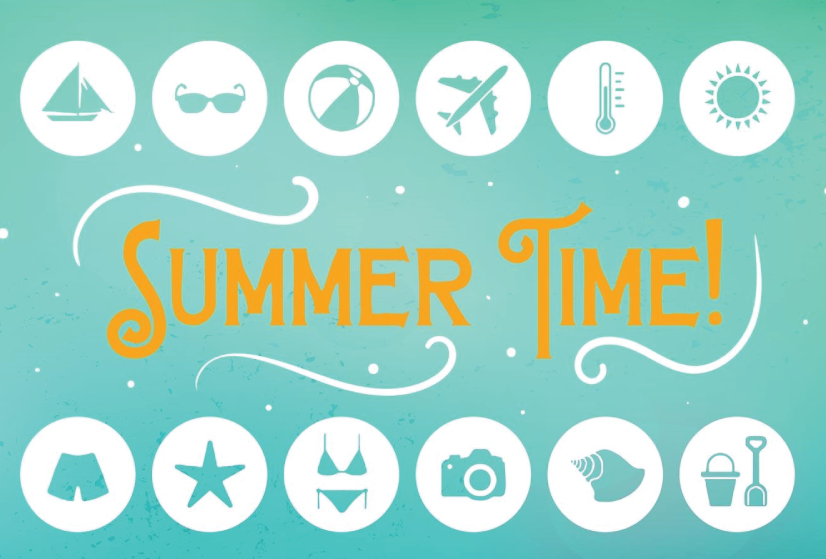 Free Summer Icons Flat Style