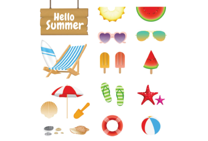 Free Realistic Summer Set
