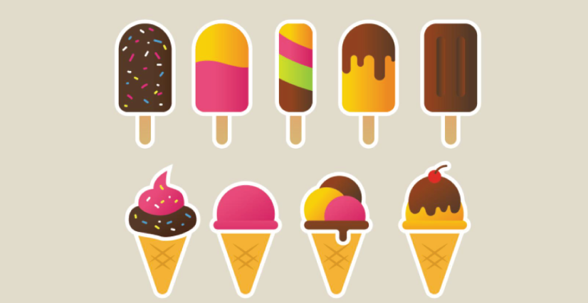 Free Summer Ice Cream Icons