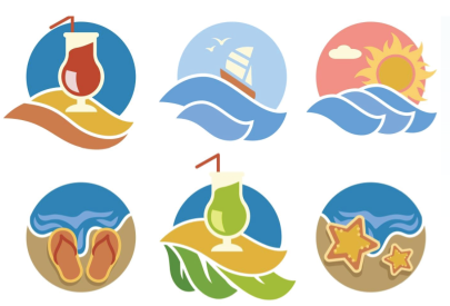Free Summer Logo Icons