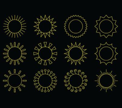 Free Sunny Icons