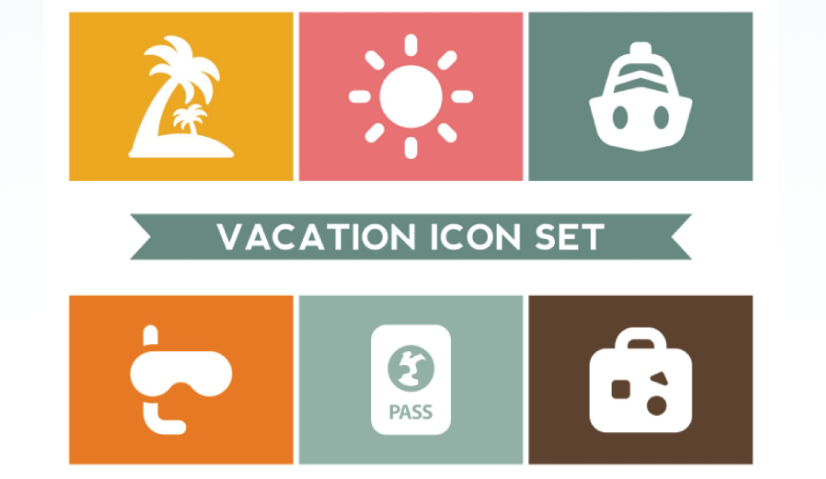 Free Silhouette Summer Icons