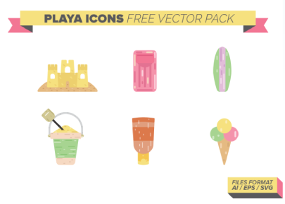Free Beach Play Icons