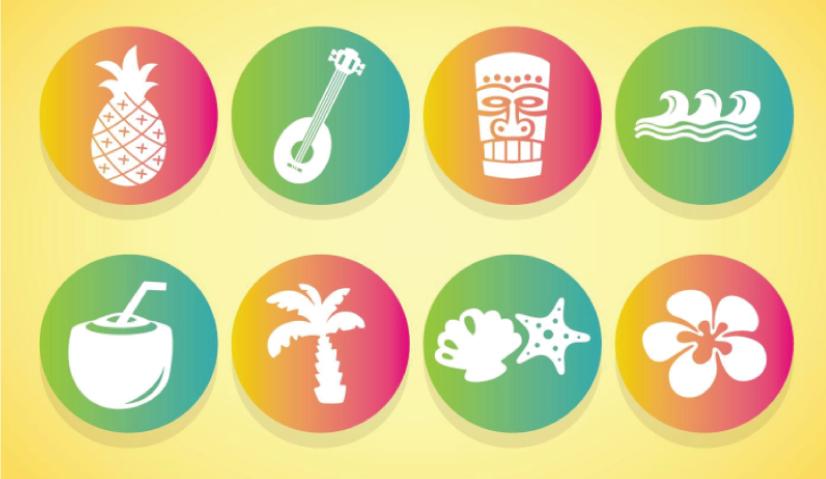 Free Sunny Hawaii Icons