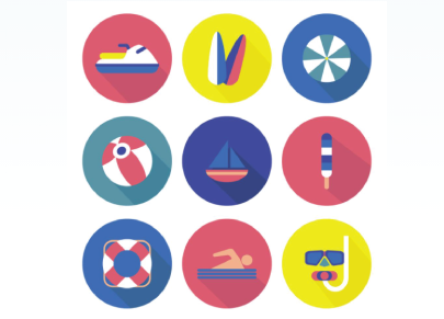 Free Summer Sport Icons