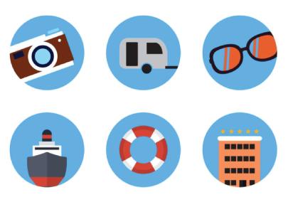 Free Fresh Flat Icons