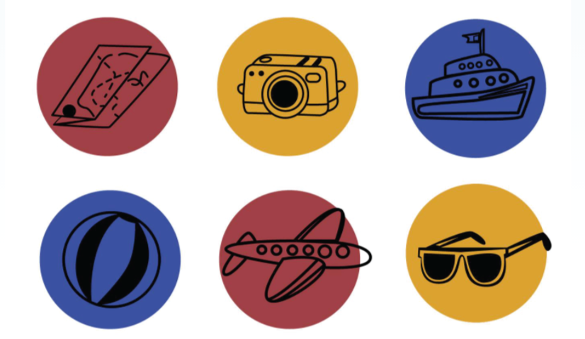 Free Doodle Summer Icons