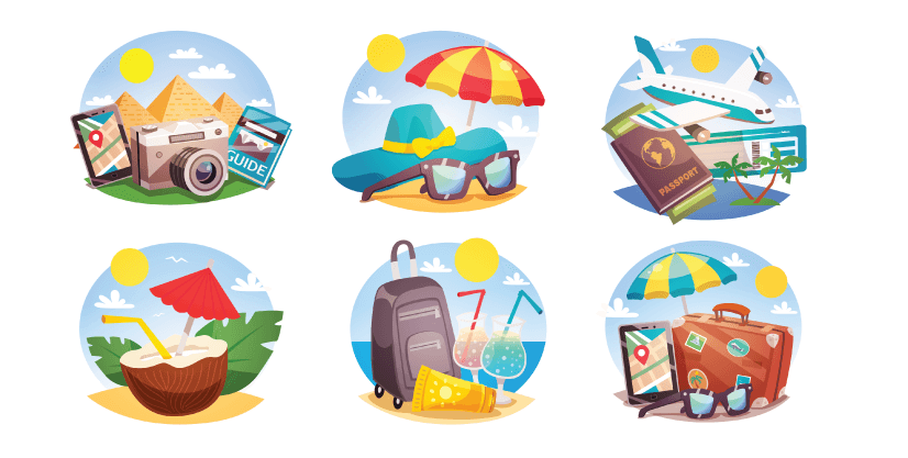Free Beach Illustrations Icons