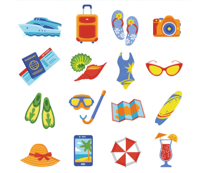 Free Vacation Icons