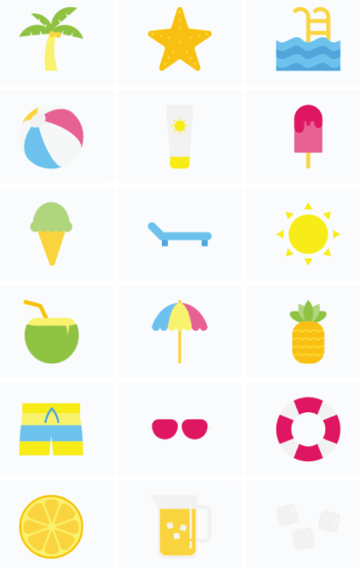 Free Colorful Flat Icons