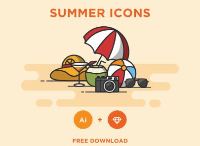Free Flat Summer Set