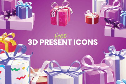 free 3d gift icons by graphic mama
