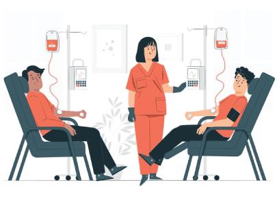 Free Blood Donation Illustration Graphic