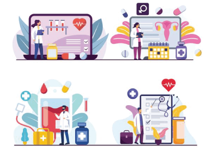 4 Free Medical Research Graphic Illustrations