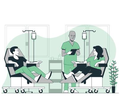 Free Blood Donation Illustration Concept Art