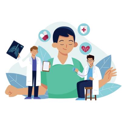 Free Full Medical Examination Illustration