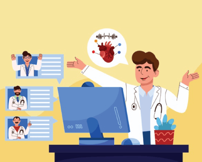 Free Medical Conference Concept Illustration